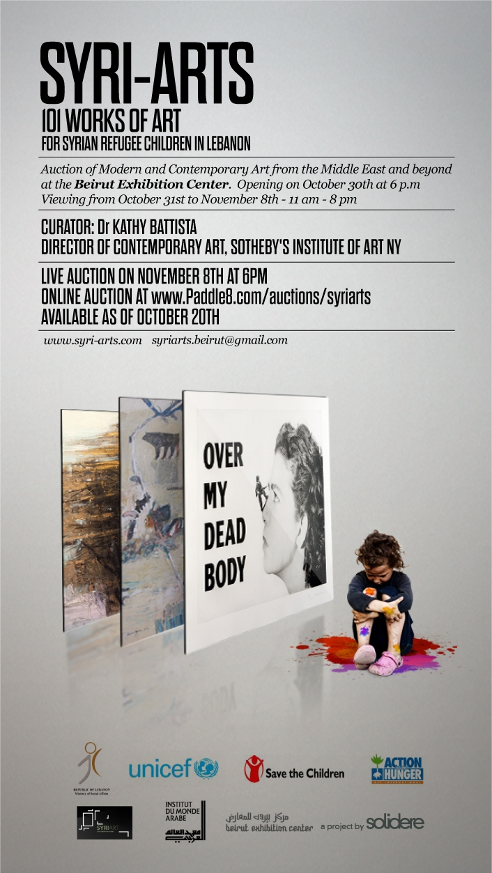 Syri-Arts Beirut: 101 Works of Art for Syrian Childrenimage