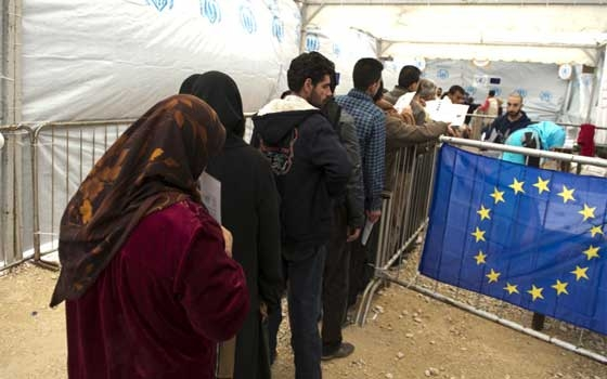 EU AID TO PROVIDE FOOD FOR DISPLACED SYRIANSimage