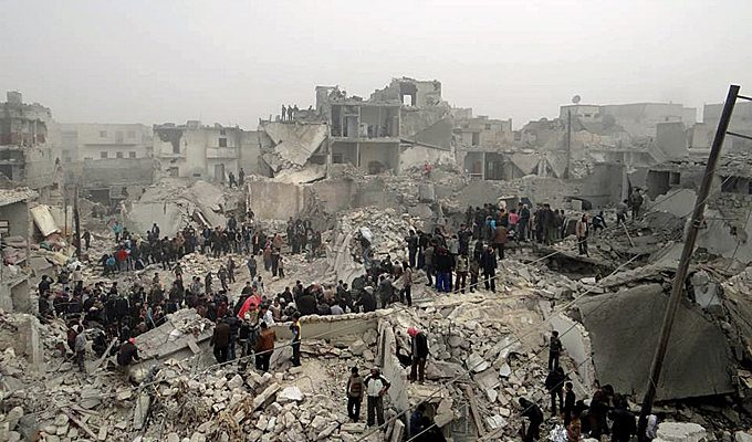UN envoy proposes Syria 'fighting freeze'image