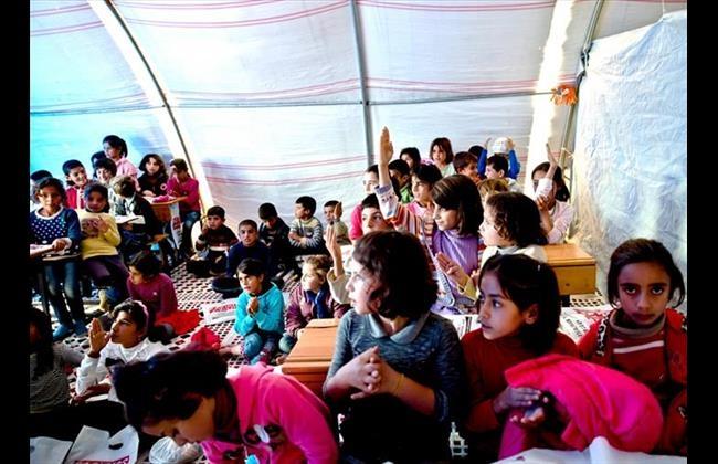 Makeshift Schools in Turkey offer Hope for Syrian Refugee Childrenimage