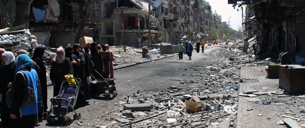 THE CRISIS IN YARMOUK SYRIAimage