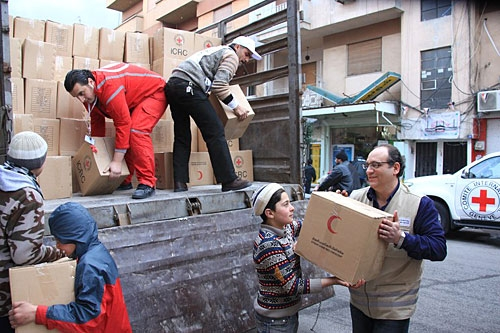 Red Cross deplores the deaths of two aid workers in Syriaimage