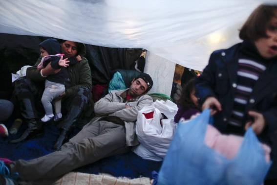 Greece says it cannot help protesting Syrian refugeesimage