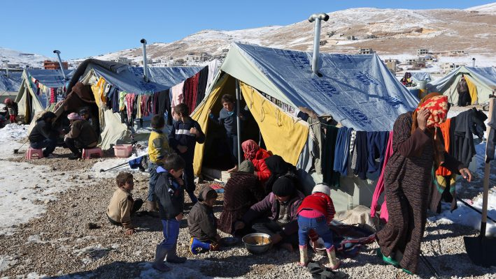 Suffocating life of Syrian Refugees in Lebanon's Tentsimage