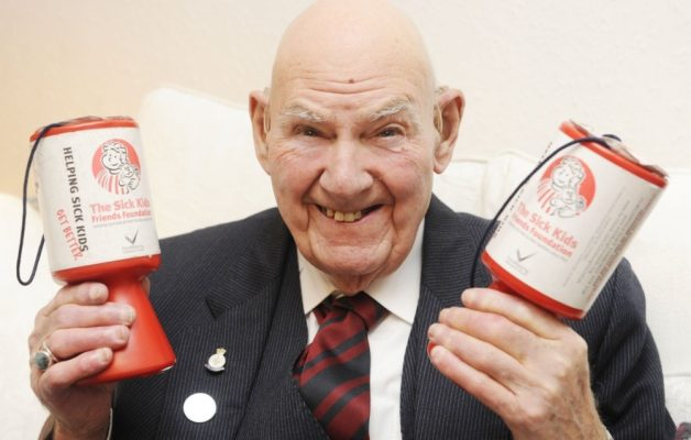 Tom Gilzean collects £50k this year for charityimage