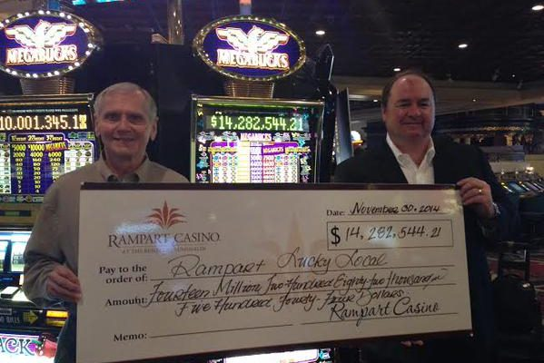 Man to donate $14-million Vegas winnings to charityimage