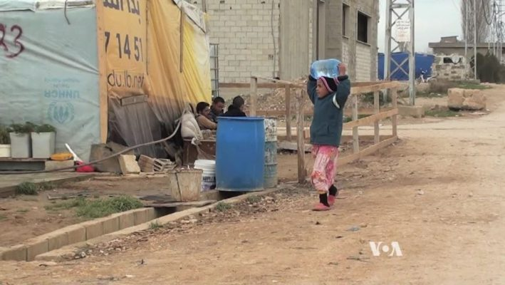 Water Shortages in Lebanon Devastate Syrian Refugeesimage