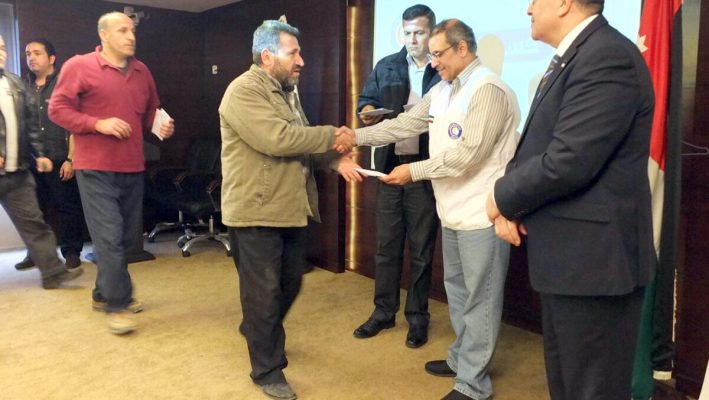 Kuwait's KRCS launches winter aid campaign for Syrian refugees in Jordanimage