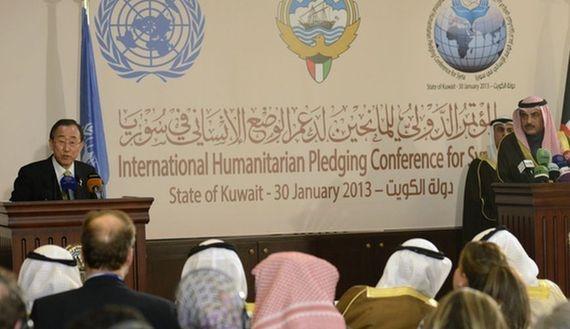 Turkey lauds Kuwaiti humanitarian roleimage