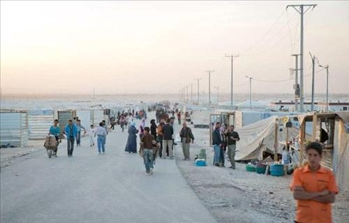 Jordan aids Syrian refugees as winter cold sets inimage