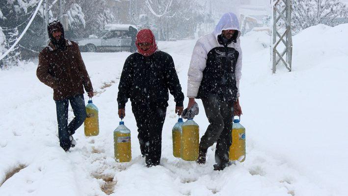 Lebanon's winter harsh on Syrian refugeesimage