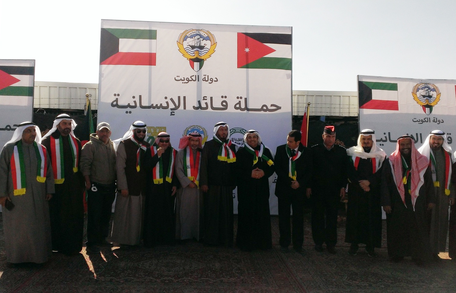Urgent aid delivery to Syrian refugees in Jordanimage