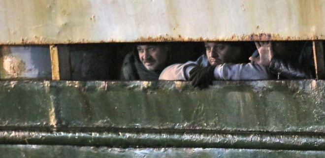 Syrian Refugees abandoned on 2nd shipimage