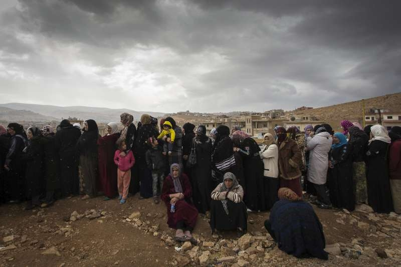 Freezing and Fighting for Aid Syrian Refugees in Lebanonimage