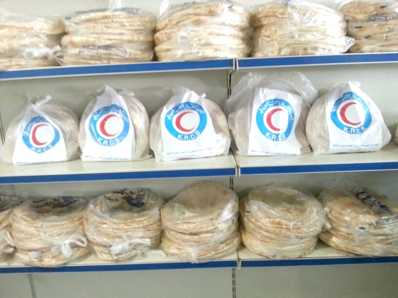 Kuwait Red Crescent Society launches new Bread campaign for Syrian refugees in Jordanimage