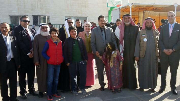Kuwaiti campaign offers relief aid to Syrian refugees in Jordanimage