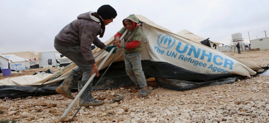 Aid for Syrian refugees falling far short of soaring demandimage