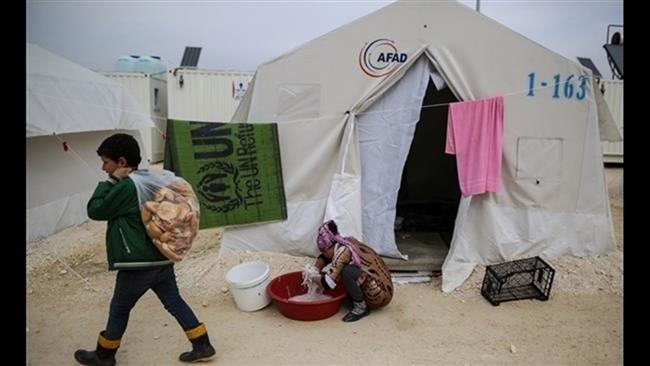 Charities had said that UN has failed in helping Syrian refugeesimage