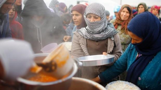 Devastating food shortage awaits Syrian refugeesimage