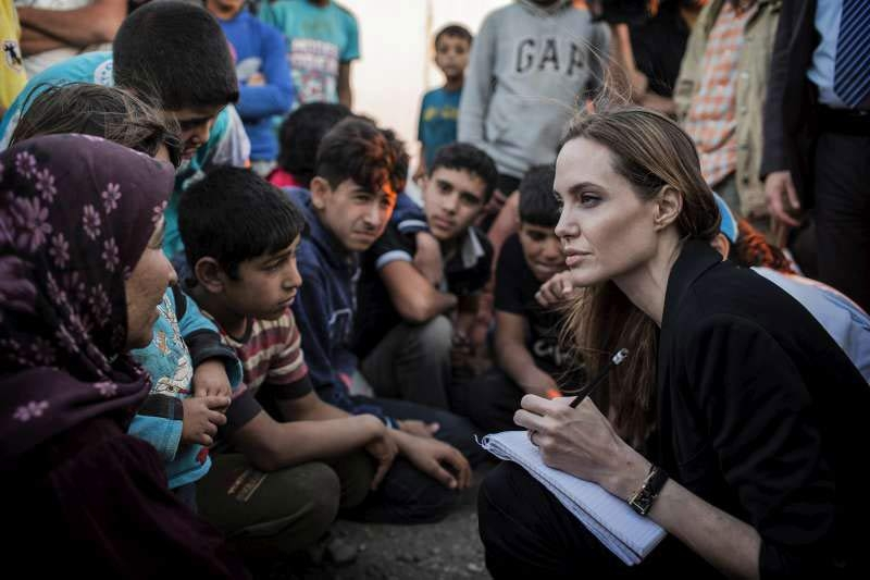 Failure to end crisis in Syria 'diminishes us all': UN refugees envoy Angelina Jolieimage