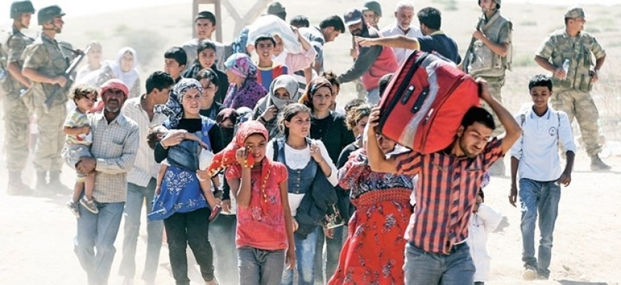 UN warns that number of Syrian refugees in Turkey reaching 2.5 millionimage