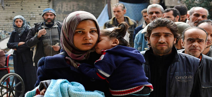 Emergency fund for Syrian Palestinians running lowimage