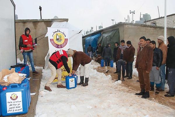 Qatar aid benefits 240,000 Syrian refugees in Lebanonimage