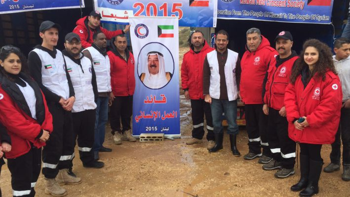 Kuwait Red Crescent Society delivers relief aid to 1,000 Syrian refugees in South Lebanonimage