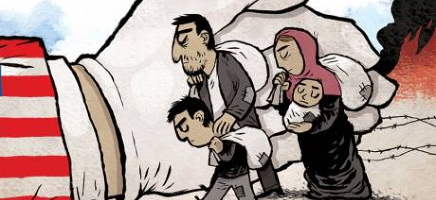 Resettling victims of Syrian conflict.image