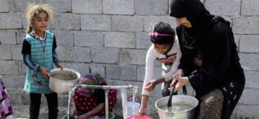 Refugees exacerbate water crisis in Middle Eastimage