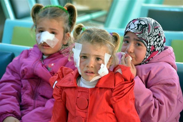 Skin disease infects Syrian children in Turkey's southeastimage