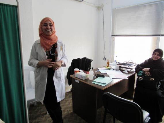 An IRC clinic gives hope to Syrian refugee women in need of health careimage