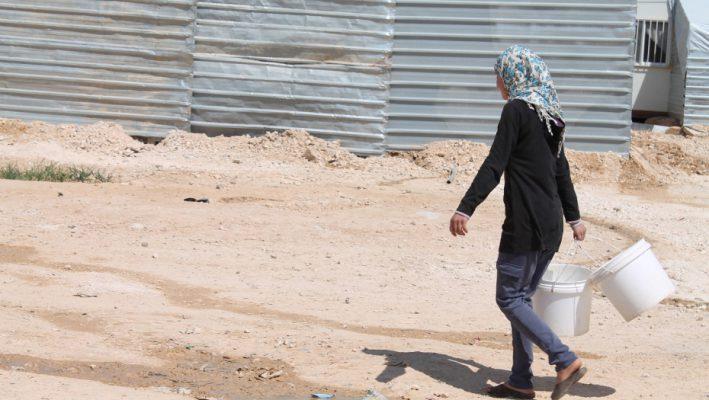 Clean Drinkable Water Reach Refugees in Zaatariimage