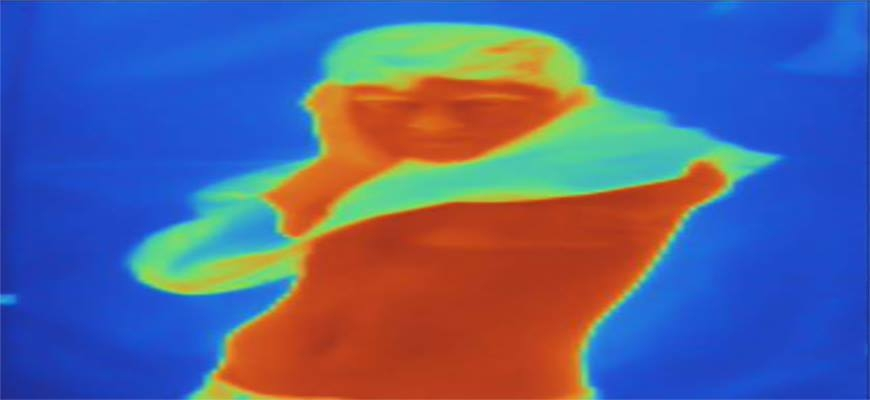 See the Life of Syrian Refugees Through a Thermal Cameraimage