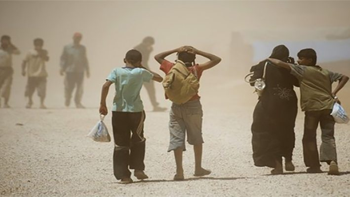Global organization: a million Syrians have fled in the last 8 monthsimage