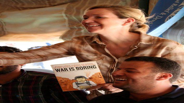 Syrian refugees' artimage