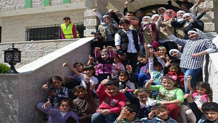 """The Fun Day"" for Syrian Children in Jordanimage"