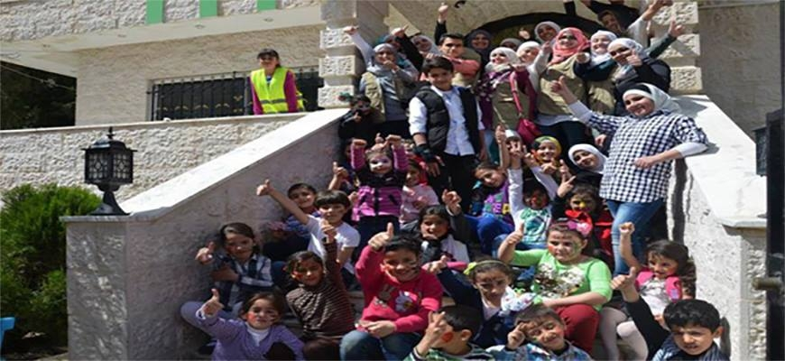 """The Fun Day"" for Syrian Children in Jordanimage"