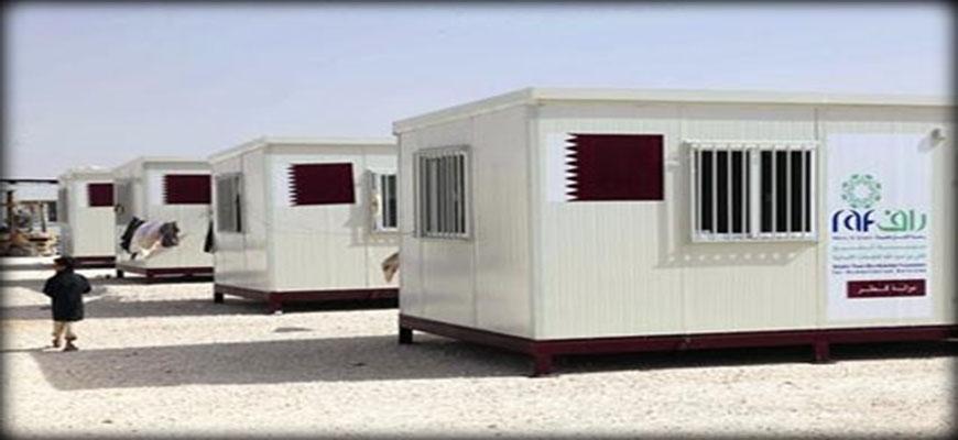 100 Caravans for Syrian refugees in Zaatari campimage
