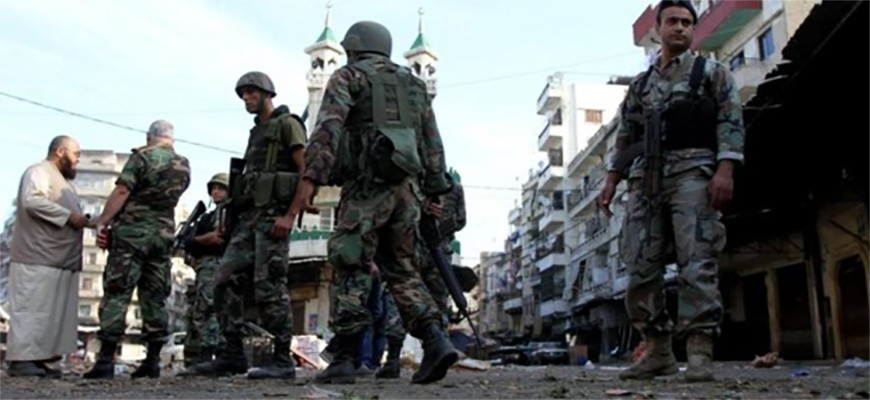 Evacuation and raid Syrians refugee camps in Lebanonimage
