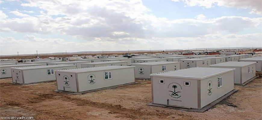 Saudi National Campaign delivers 70 housing units to  Syrian refugeesimage