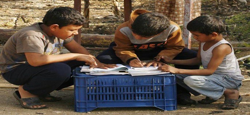 UN appeal for $ 100 million to provide education for Syrian students in Lebanonimage