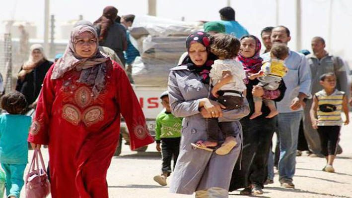 Jordan rejects a housing project for Syrian refugees, because of the resettlement idea.image