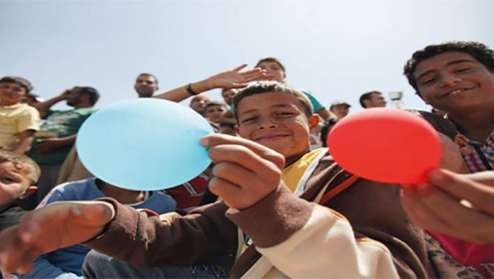 Dubai magician helps bringing relief to Syrian childrenimage
