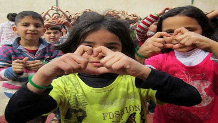 Summer camp for Syrian refugee children in Lebanonimage