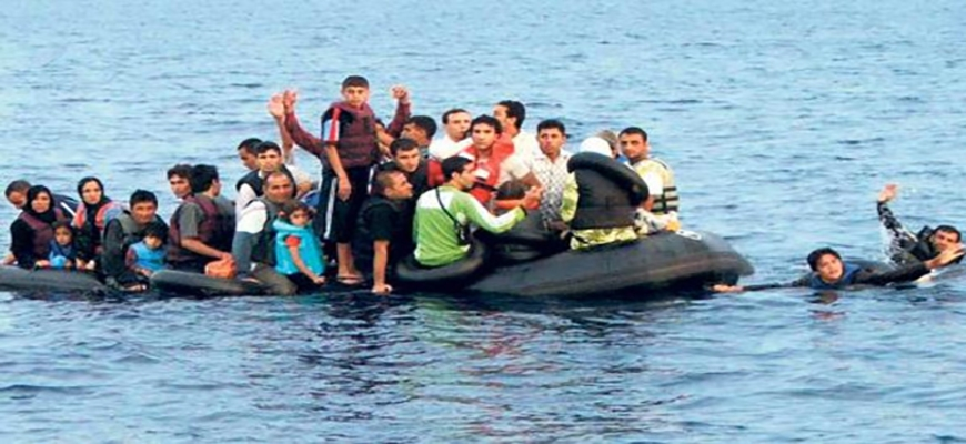 Turkey : 6 Syrian refugees were killed in sank boat.image