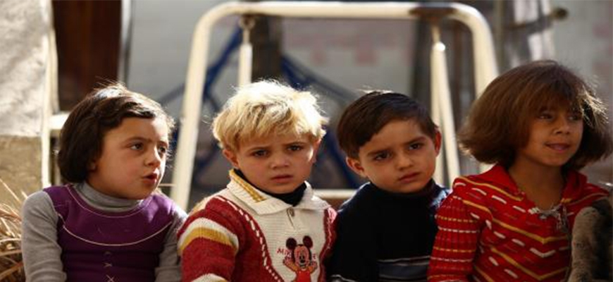Children Syrian refugees in Jordan are waiting for surgery or deathimage
