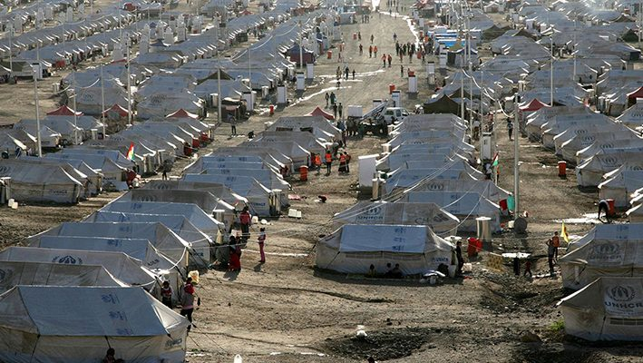 The highest record for Displaced People Across the World, with Syria being the biggest source of refugeesimage