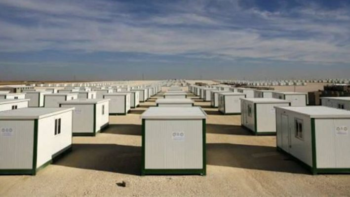 Prefabricated houses for the displaced in Tartousimage