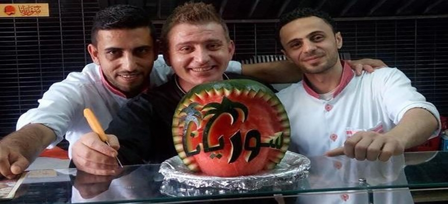 A Syrian chef from Aleppo becomes a famous chef in Gaza.image